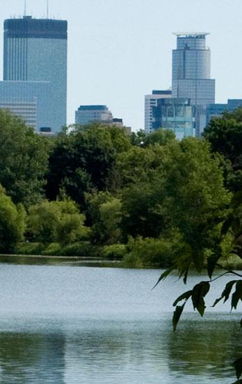 Minneapolis Walk Talk Skyline